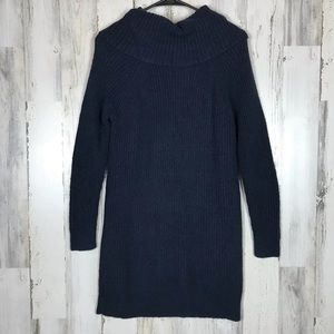 Hollister | Navy Blue Tunic Sweater Small